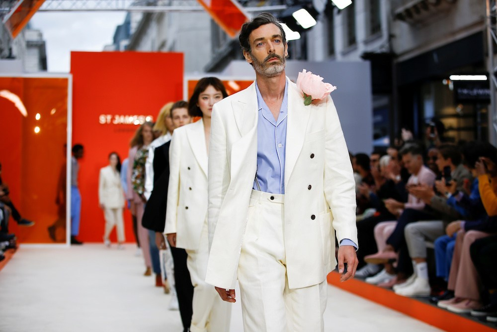 Suited and booted: menswear on show at London Fashion Week Men's