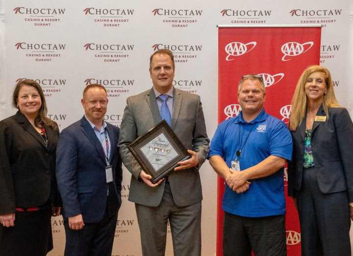 Choctaw Casino & Resort- Durant Wins AAA Four Diamond Award Eight Years in a Row