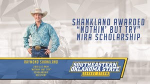 "Shankland Awarded ""Nothin' But Try"" Scholarship"
