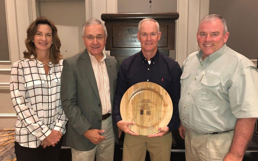 District Forester Jason Ellis wins 2019 Forest Stewardship Forester Award