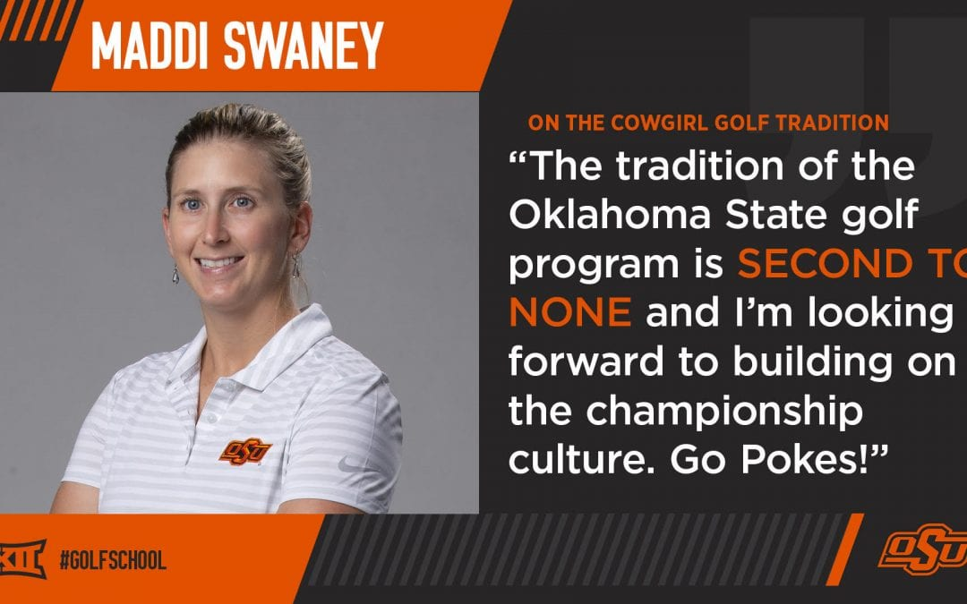 Cowgirl Golf Adds 2016 Assistant Coach of the Year, Maddi Swaney, To Staff