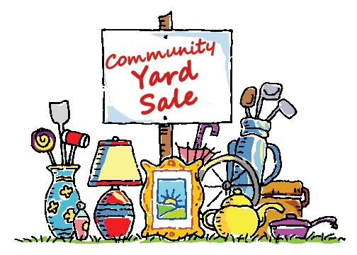 COMMUNITY GARAGE SALE ALONG THE ERIE