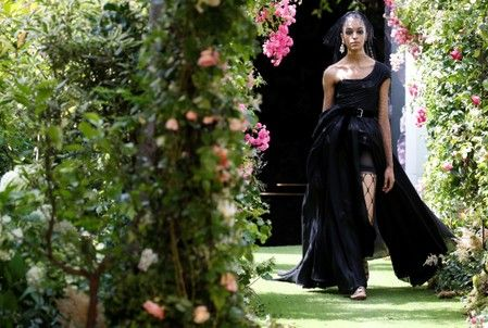 Back to black for Christian Dior at sumptuous Haute Couture show