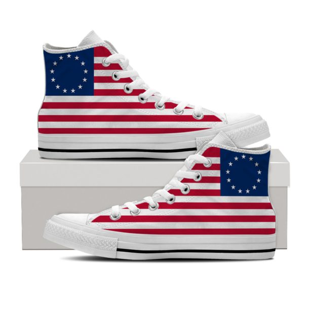 Wavered: Betsy Ross Sneakers
