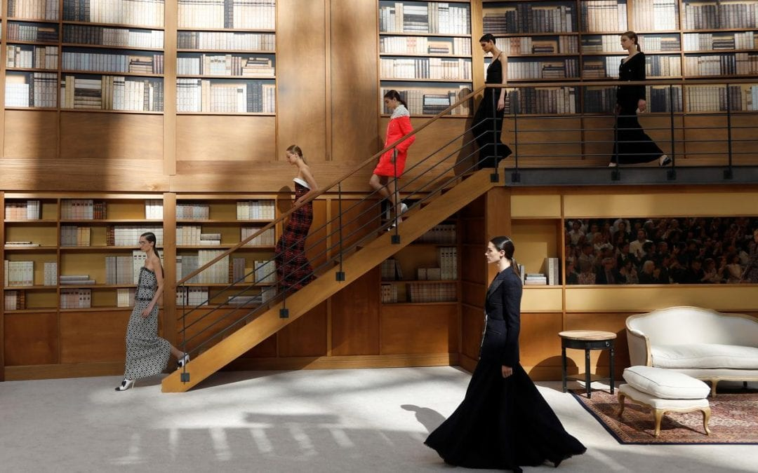 Lagerfeld successor brings demure librarians to Chanel catwalk