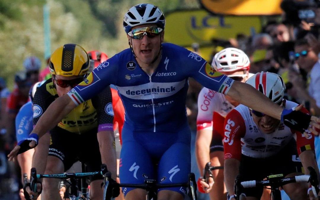 Viviani sprints to London victory