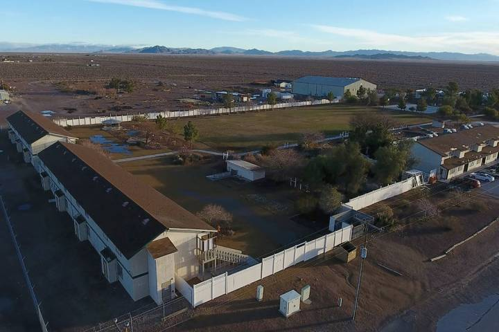 DESERTED IN THE DESERT: OFFICIALS PULLED STUDENTS FROM NYE COUNTY SCHOOL YEARS AGO
