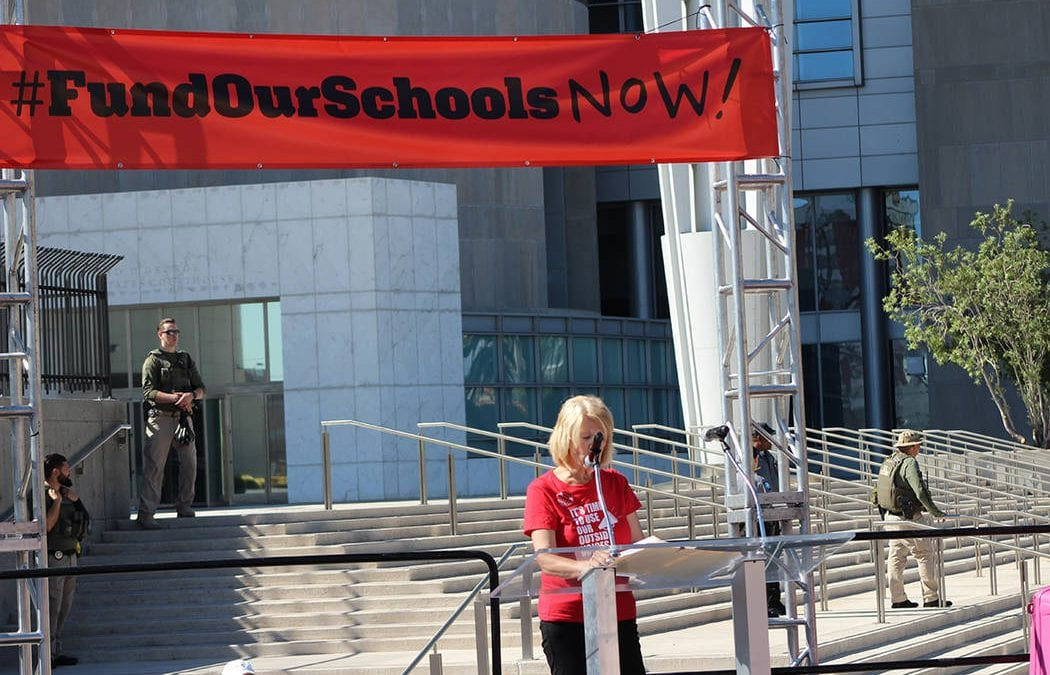 Clark County teachers union sets date for potential strike