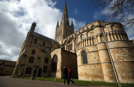 Fun or folly? Another English cathedral installs a fairground attraction