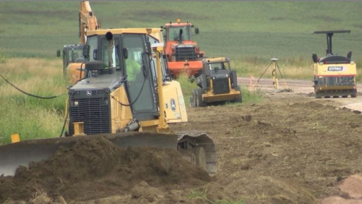 SD Highway 48 Remains Under Construction