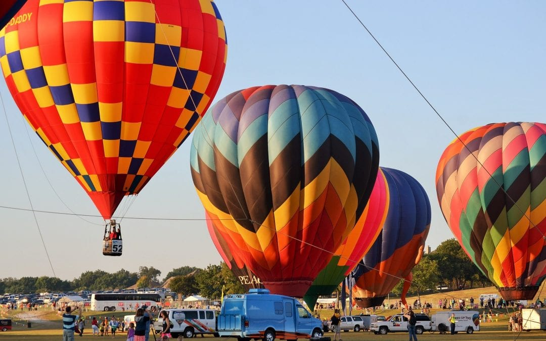 Balloon Festival this weekend at Hatbox