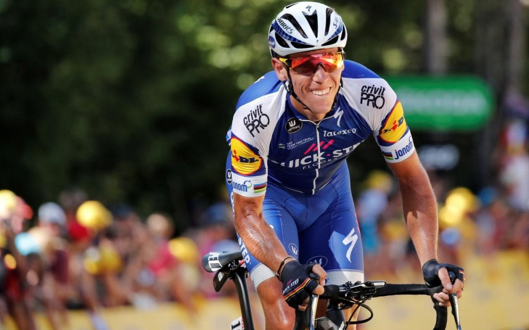 Cycling- Gilbert wins rapid stage as Quintana rides into overall picture