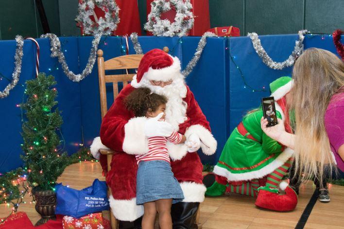 The City of Port St. Lucie's Santa Claus Visit
