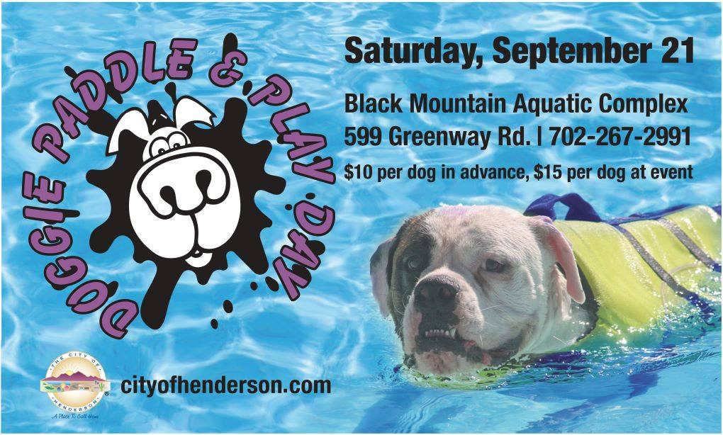 Black Mountain Aquatic Complex Hosts Doggie Paddle & Play Day