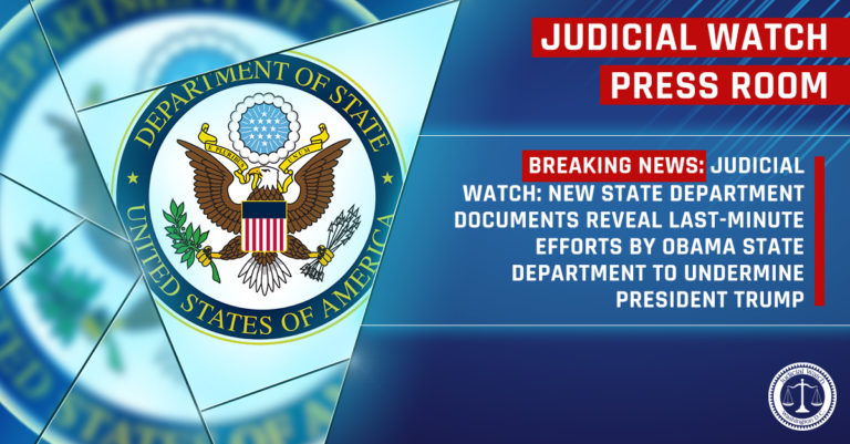 NEW STATE DEPARTMENT DOCUMENTS REVEAL LAST-MINUTE EFFORTS BY