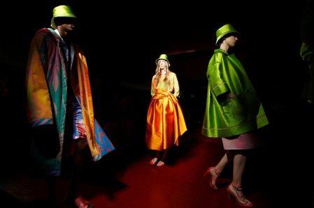 Ballroom meets the beach as Peter Pilotto opens Milan Fashion Week