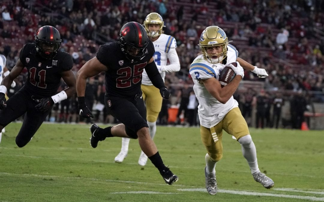 UCLA upsets Stanford behind QB Thompson-Robinson