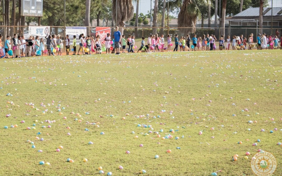 The City of Port St. Lucie's Eggstravaganza