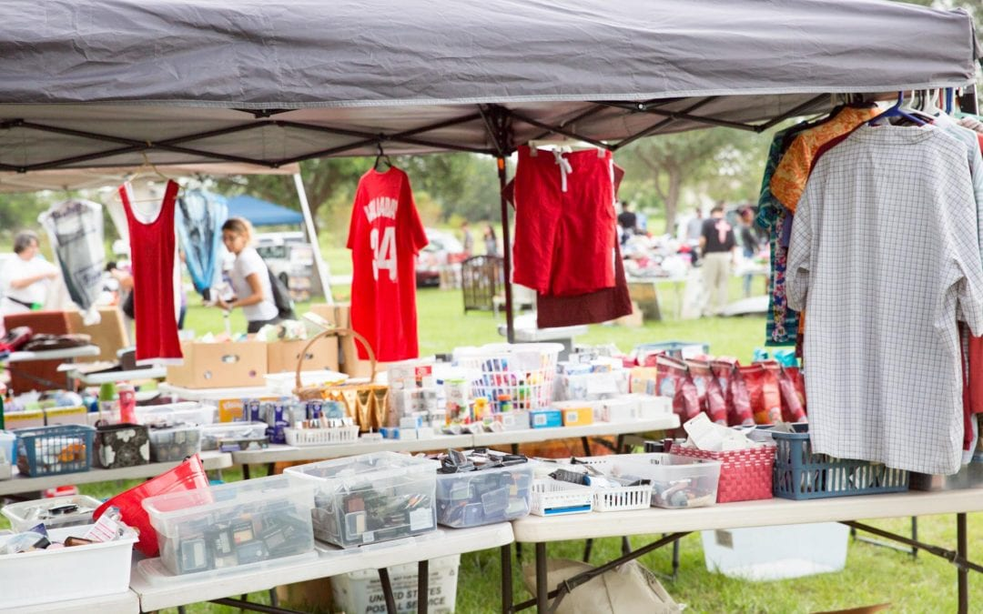 The City of Port St. Lucie's Minsky Gym Community Garage Sale