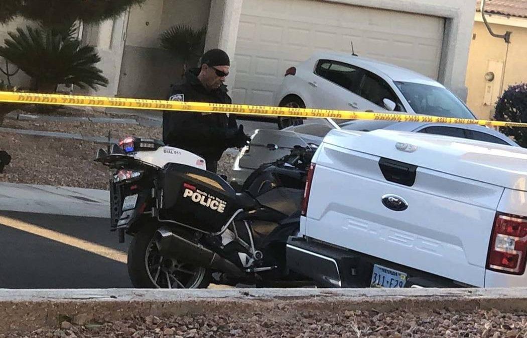 North Las Vegas officer shoots at vehicle that rammed patrol car