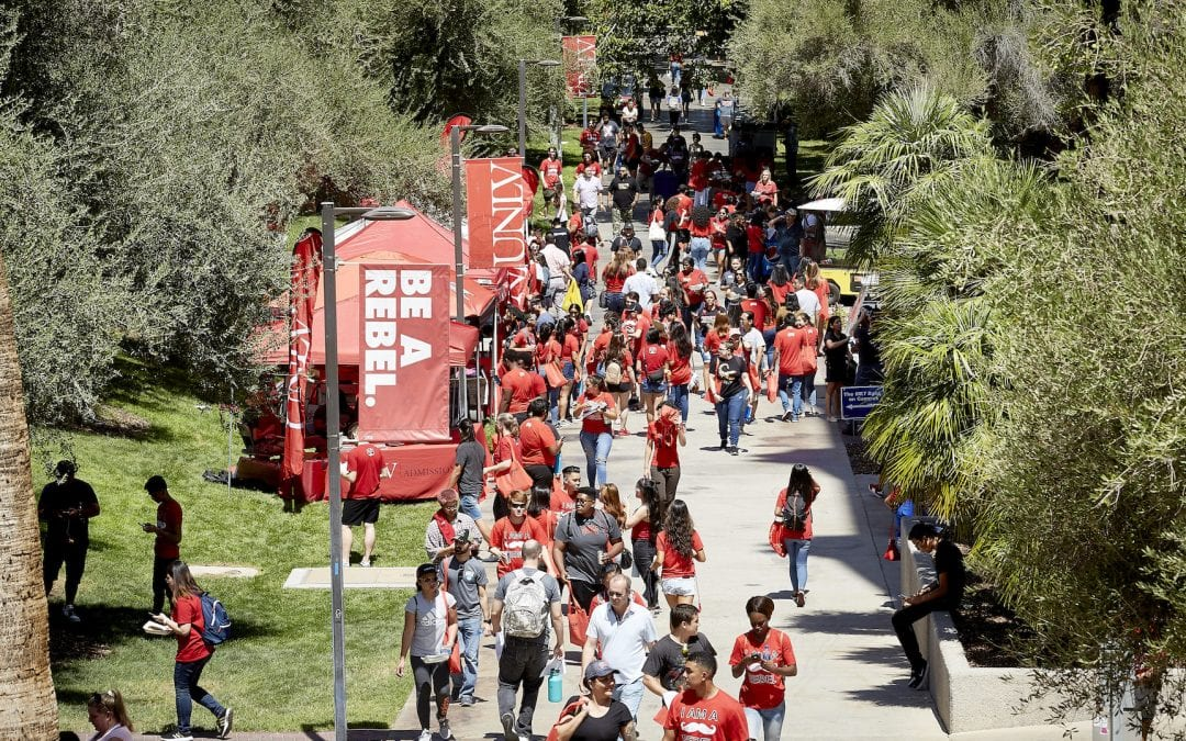 UNLV Hits All-Time Marks for Enrollment, Retention, and Grad Rate