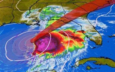 Tropical storm menaces U.S. southeast, New Orleans to demolish cranes