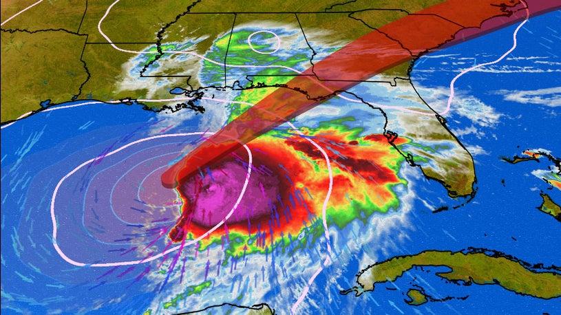 Tropical Storm Nestor forms near the U.S. Gulf Coast