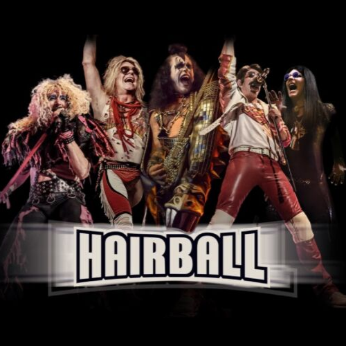 Hairball Returns to Bring a Bombastic Celebration of '80s Arena Rock to the Henderson Pavilion