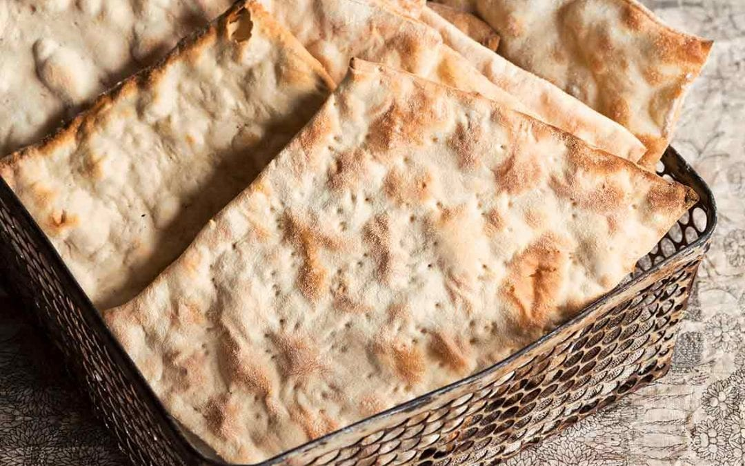 How to make matzoh, a cracker from biblical times