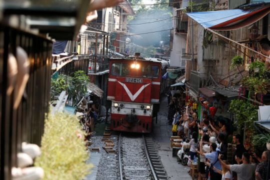 Off the rails: Hanoi closes trackside cafes thronged by selfie-seeking tourists