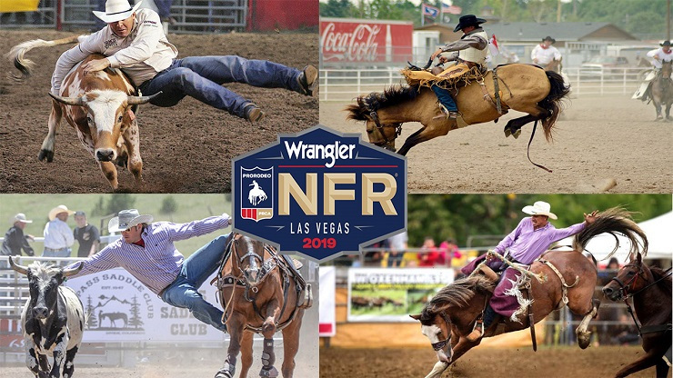 Ride into The Mirage for 2019 Wrangler National Finals Rodeo