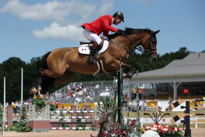 Equestrian: Canadian show jumper tests positive, Olympic spot in doubt