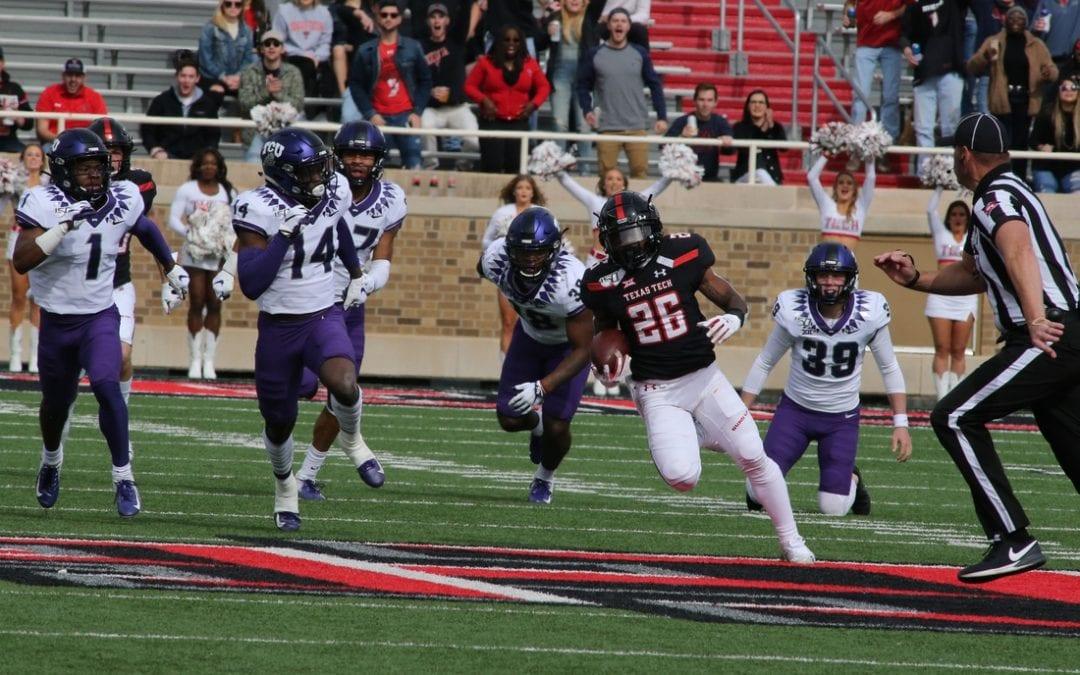 Song's field goal lifts Texas Tech over TCU