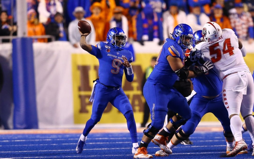 Henderson, No. 21 Boise State rout New Mexico