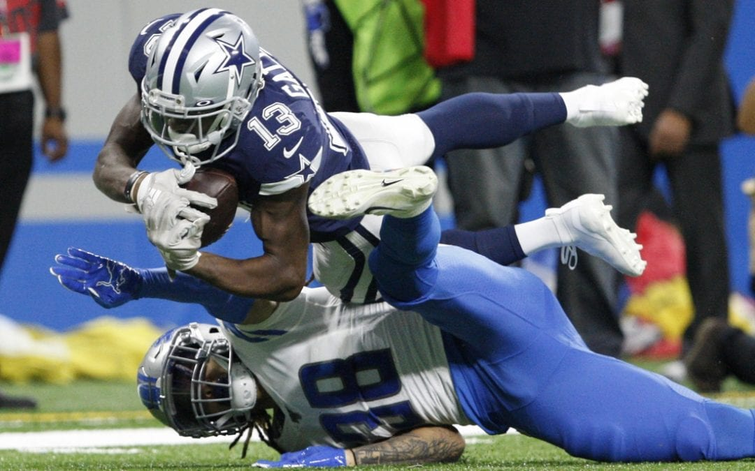 Prescott passes for 444 yards as Cowboys defeat Lions