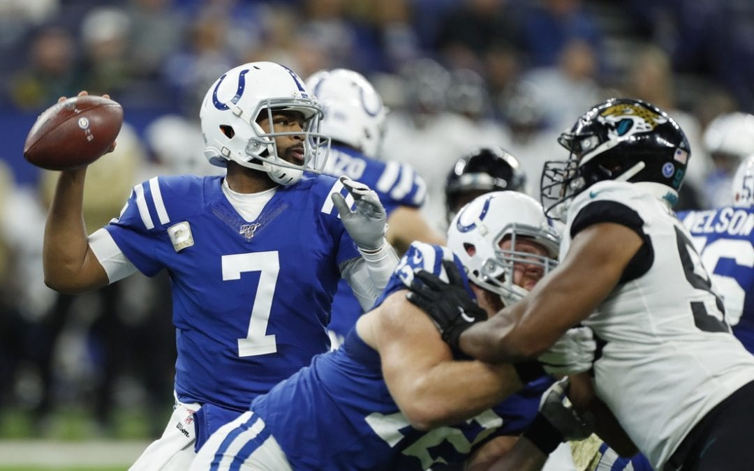 Colts run all over Jaguars in Foles' return