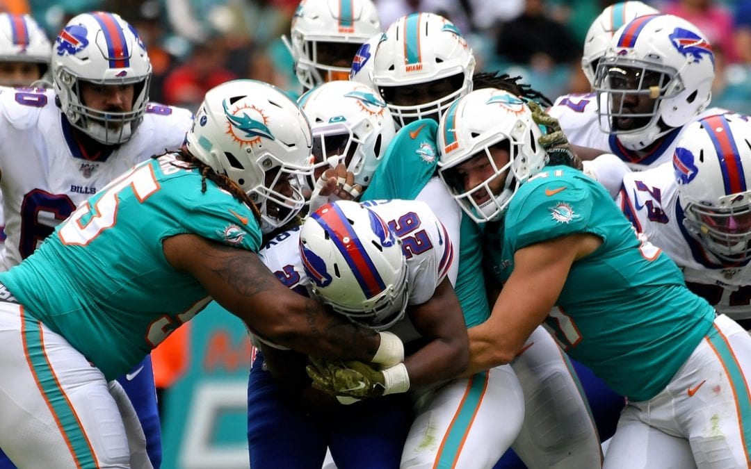 QB Allen leads Bills to season sweep of Dolphins