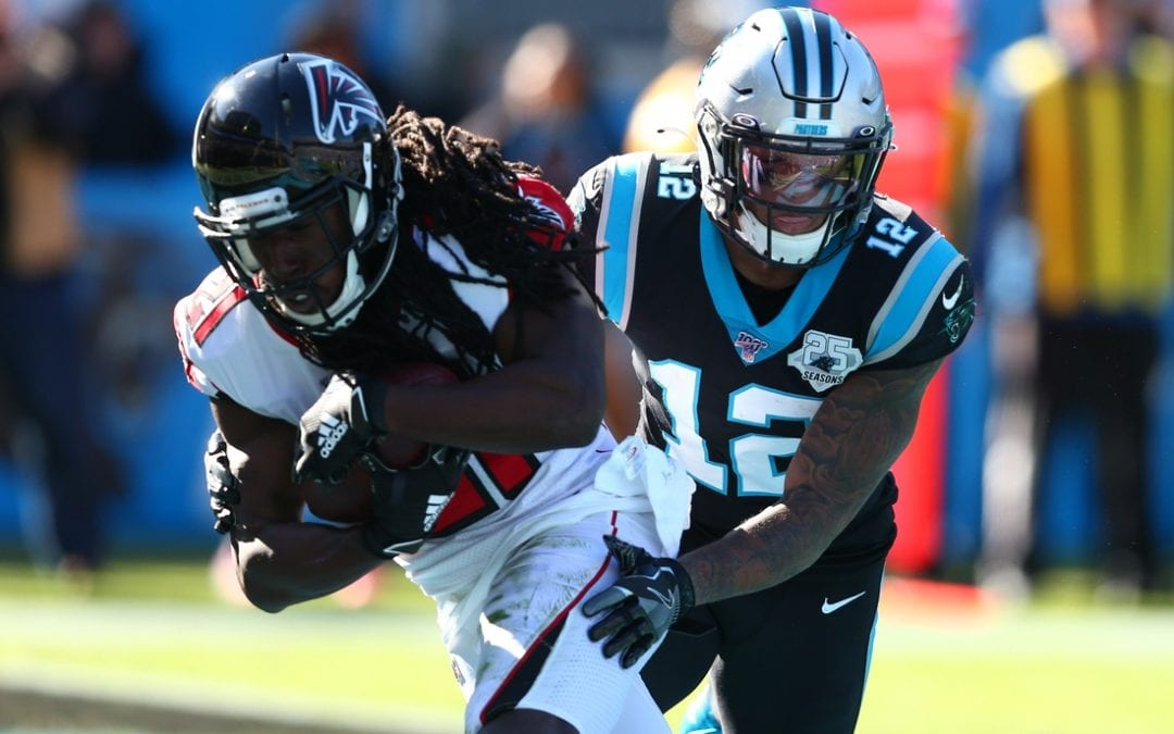 Falcons bash Panthers with opportunistic defense