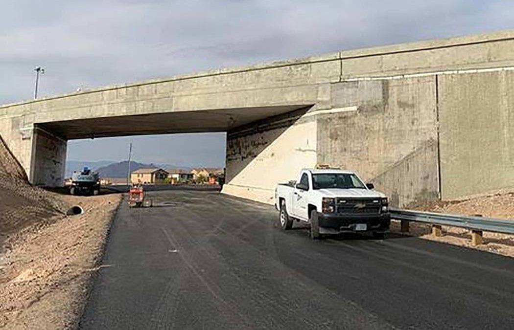 Rebuilt bridge reopens at Boulder Highway, Interstate 11