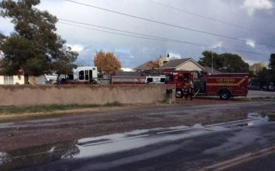 Bedridden woman rescued from fire in northwest Las Vegas Valley