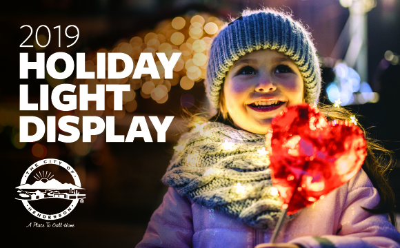 Henderson Encourages Residents to Light Up the Holidays