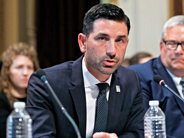 Officials: DHS Chief Chad Wolf Is '100 Percent in Line' with Donald Trump's Agenda