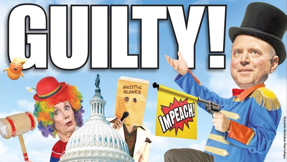 "What a Schiff Show! Congressional clowns unleash staged ""impeachment theater"" that only makes themselves look like moronic fools and cheats"