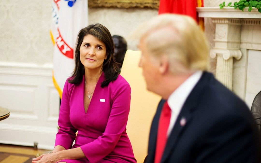 Nikki Haley: Tillerson, Kelly Tried to Recruit Me to 'Save the Country' by Undermining Trump