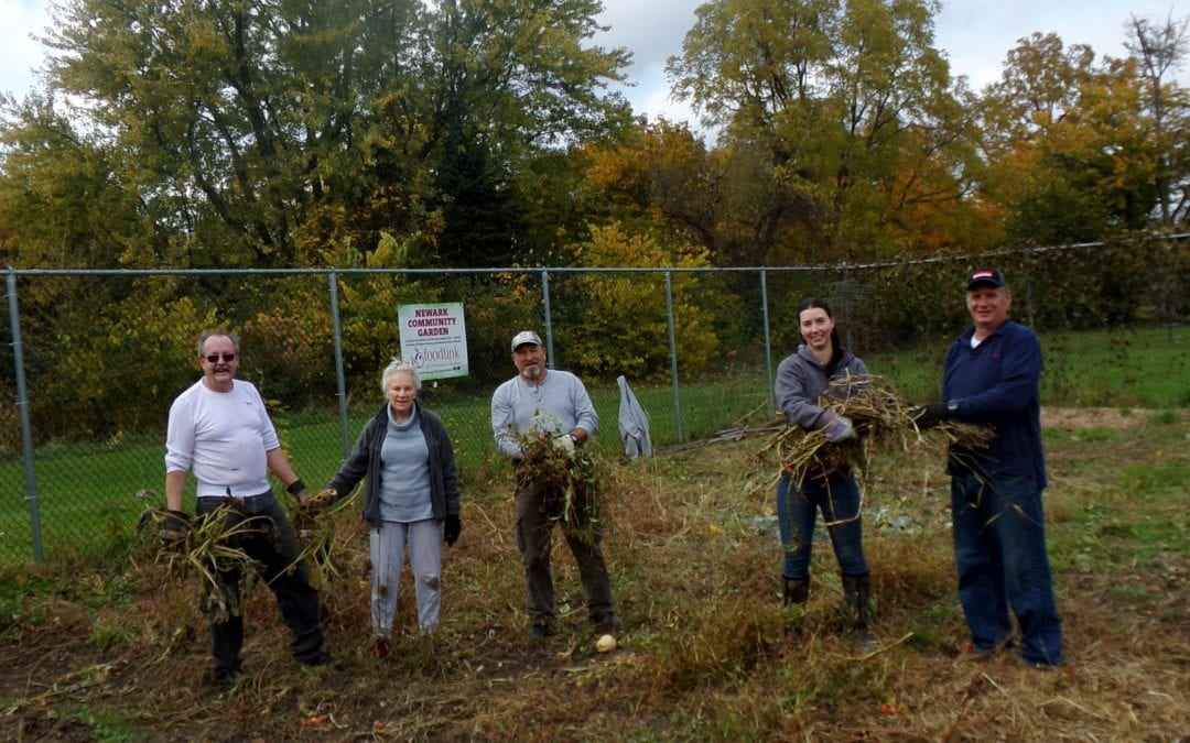 Community Garden Closes Season