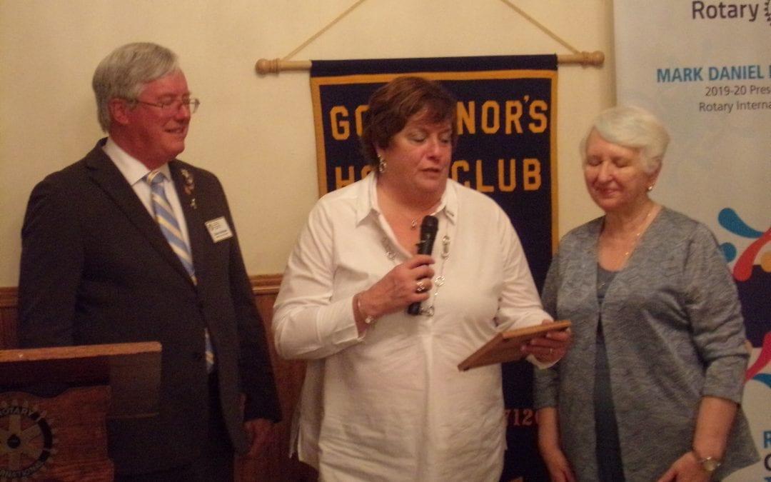 Newark Rotary holds Service Above Self awards dinner