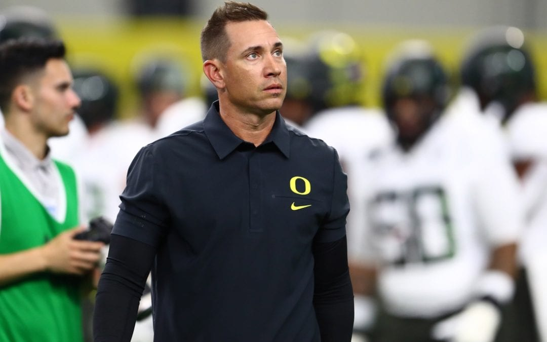 UNLV hires Oregon OC Arroyo as new coach
