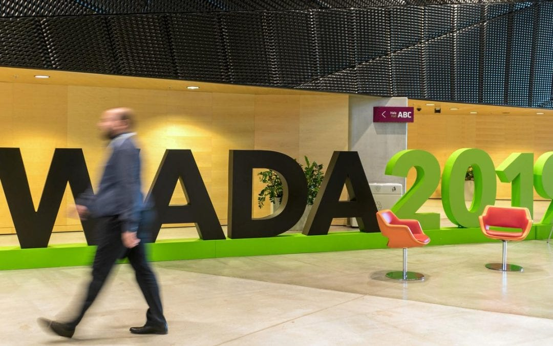 Britain's Aggar quits WADA role over Russia scandal