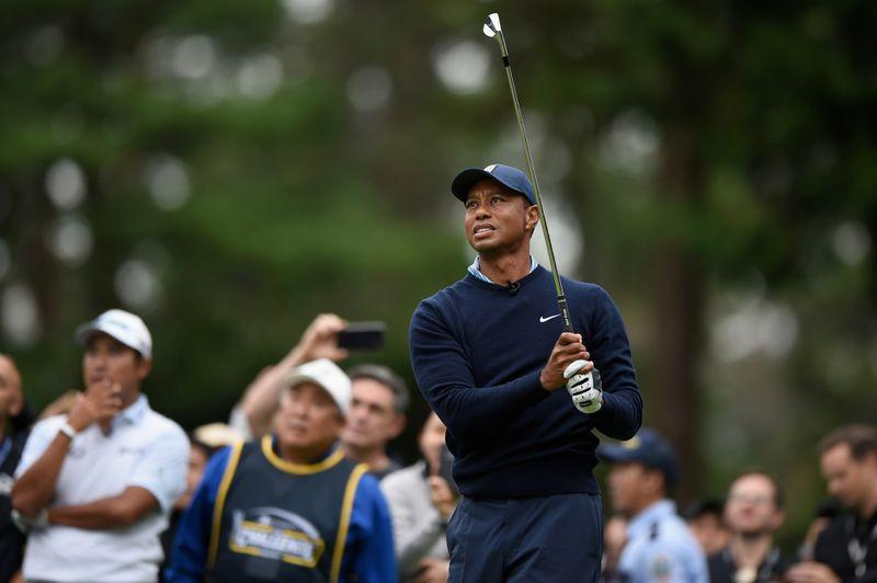 Woods to sit out Saturday fourballs at Presidents Cup
