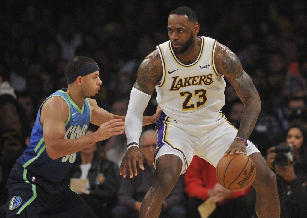 Doncic Leads As Mavericks Ends Lakers Winning Streak